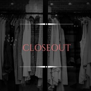 •CLOSEOUT ITEMS•